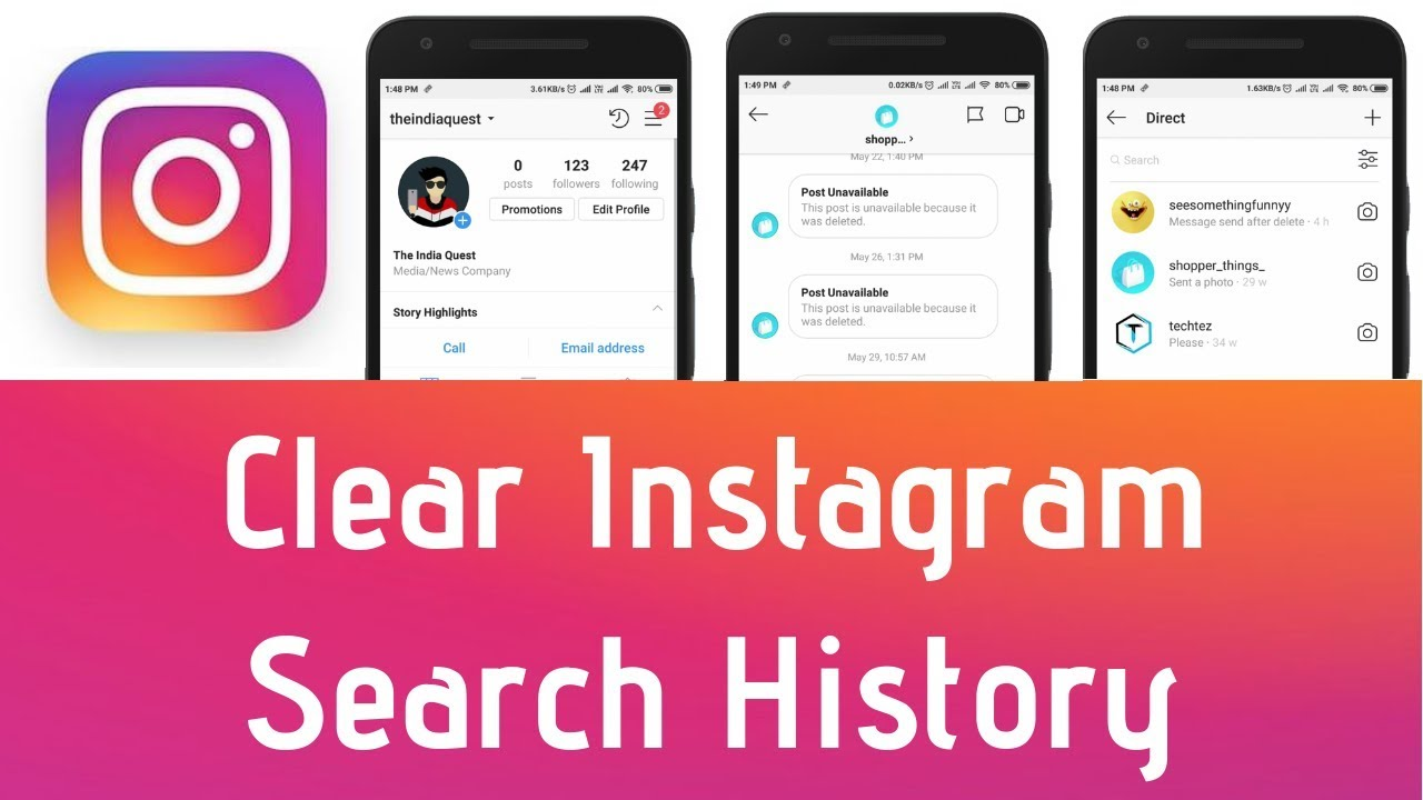 How to Clear Search History on Instagram?